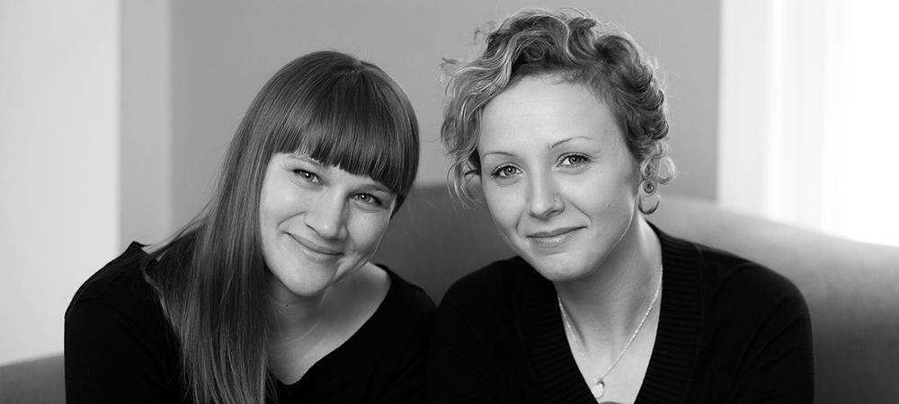 Sarah Jo Kirsch with Madeline Hildebrand, Saturday, September 19