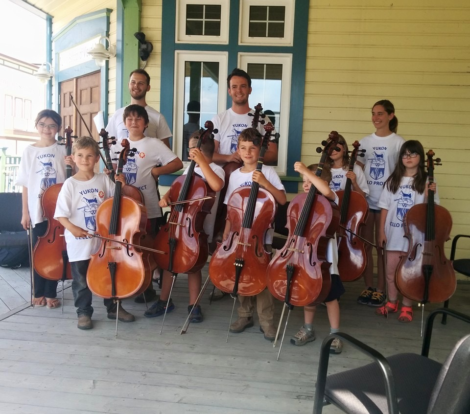 A report on the Yukon Cello Project